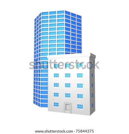 Abstract Buildings Symbol