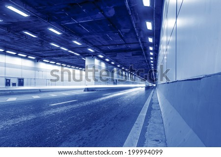 Abstract car in the tunnel trajectory #199994099