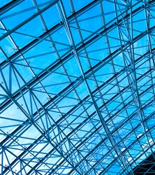 abstract ceiling indoor business hall