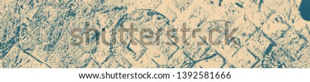 abstract celadon and beige grunge texture on background with copy space or image for design. #1392581666