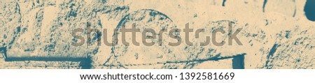 abstract celadon and beige grunge texture on background with copy space or image for design. #1392581669