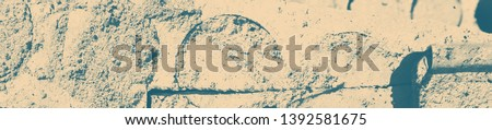 abstract celadon and beige grunge texture on background with copy space or image for design. #1392581675