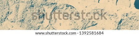 abstract celadon and beige grunge texture on background with copy space or image for design. #1392581684