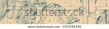abstract celadon and beige grunge texture on background with copy space or image for design. #1392581690