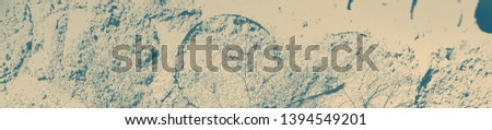 abstract celadon and beige grunge texture on background with copy space or image for design. #1394549201