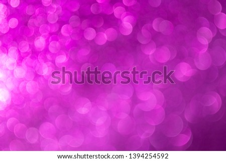 Abstract celebrate, twinkled bright bokeh defocused and sparkles background. Greeting card or invitation. Sparkling Lights Festive background. layer of special effects for different types of blending. #1394254592
