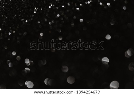 Abstract celebrate, twinkled bright bokeh defocused and sparkles background. Greeting card or invitation. Sparkling Lights Festive background. layer of special effects for different types of blending. #1394254679