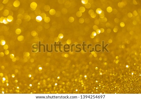 Abstract celebrate, twinkled bright bokeh defocused and sparkles background. Greeting card or invitation. Sparkling Lights Festive background. layer of special effects for different types of blending. #1394254697