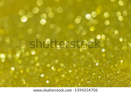 Abstract celebrate, twinkled bright bokeh defocused and sparkles background. Greeting card or invitation. Sparkling Lights Festive background. layer of special effects for different types of blending. #1394254706