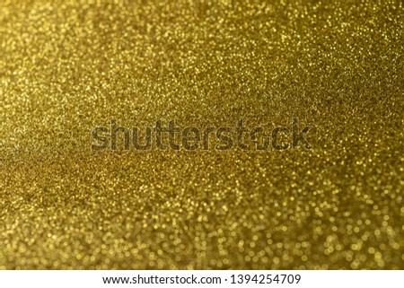 Abstract celebrate, twinkled bright bokeh defocused and sparkles background. Greeting card or invitation. Sparkling Lights Festive background. layer of special effects for different types of blending. #1394254709