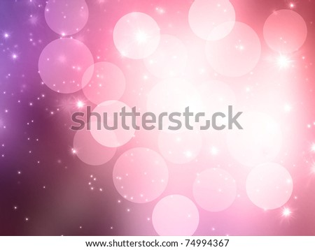 Abstract celebration blurred lights background
