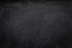 Abstract Chalk rubbed out on blackboard for background. texture for add text or graphic design.