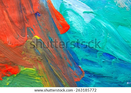 Abstract Child Art #263185772