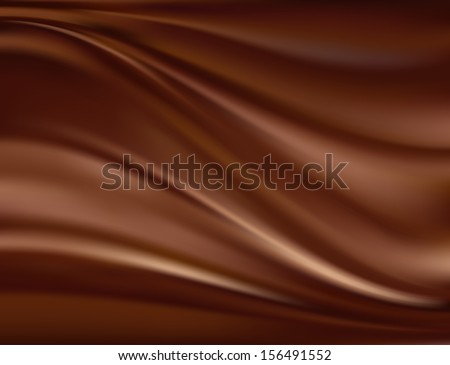 Abstract chocolate background, brown abstract satin. Raster version of vector