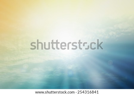 abstract christian nature filters background with blank space for Your text or image