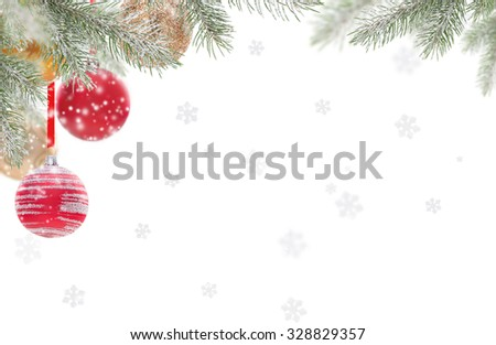 Abstract Christmas background  #328829357