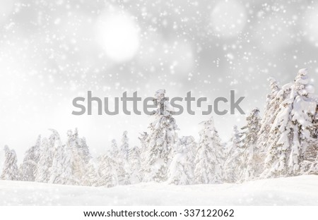 Abstract Christmas background  #337122062
