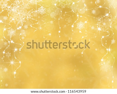 Abstract Christmas background. Holiday abstract as background