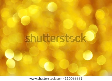 Abstract Christmas background of silver and gold chain