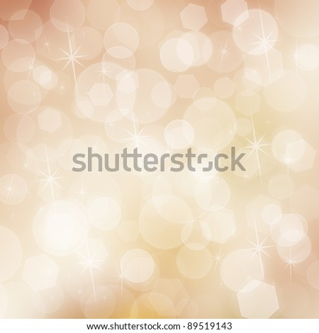 Abstract christmas colorful bokeh