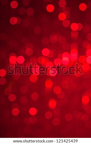 Abstract christmas lights on background - Shutterstock ID 121425439