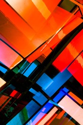 Abstract Church Windows