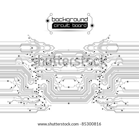 Abstract circuit board background texture - JPG version