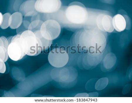 Abstract circular bokeh background of traffic lights