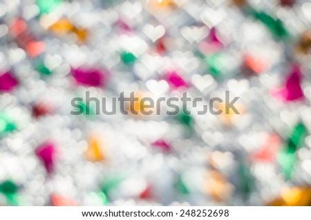 Abstract circular color bokeh light background