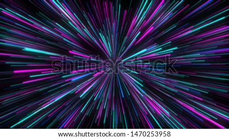 Abstract circular geometric background. Circular geometric centric motion pattern. Starburst dynamic lines or rays