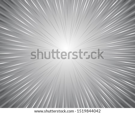 Abstract circular geometric background. Circular geometric centric motion pattern. Starburst dynamic lines or rays. Black radial speed line burst for background design or cartoon template
