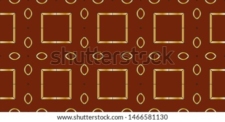 Abstract classic golden, silver pattern. Background image. Abstract decorative vintage texture. Seamless illustration for design. Metal mosaic on a colored background.  #1466581130