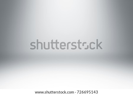 Abstract clean gray studio background with illumination #726695143
