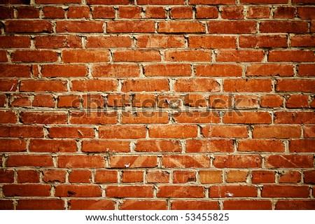 abstract close-up brick wall background