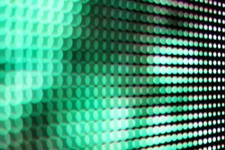 abstract Close Up green LED blurred screen,  LED soft focus background