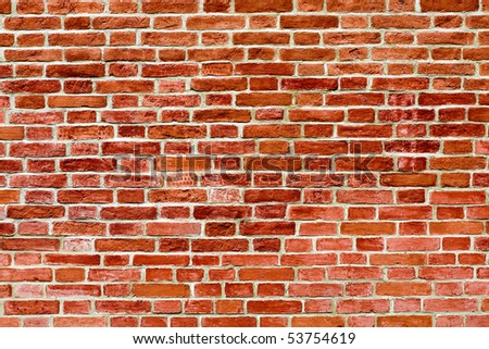 abstract closeup of brick wall