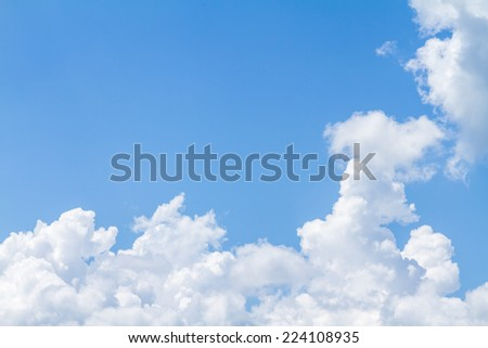 abstract cloud and sky #224108935