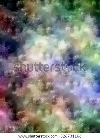 Abstract cloud effect background.