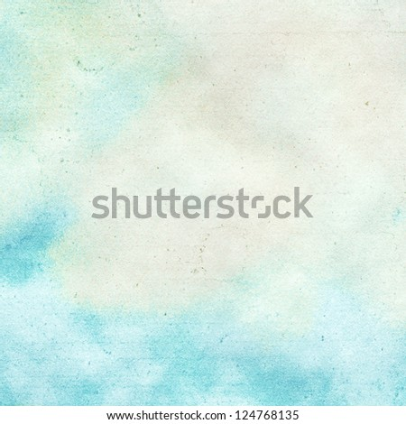 Abstract cloud,sky watercolor background.