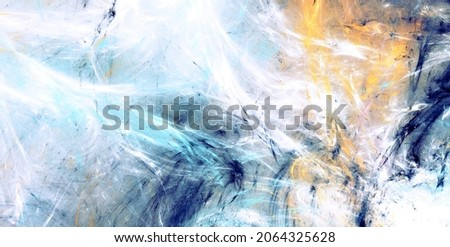 Abstract color background. Art painting texture. Fractal artwork for creative graphic design