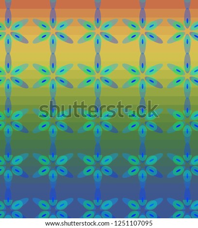 Abstract color background, illustration #1251107095