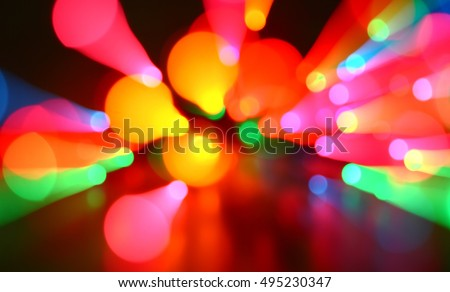 Abstract color light backgrounds. #495230347