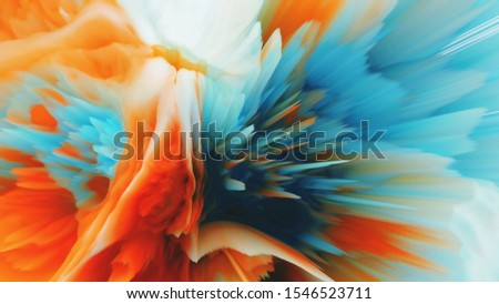Abstract color mesh background in bright summer colors. Colorful smooth. Easy editable soft colored vector illustration. Suitable For Wallpaper, Banner, Background, Card, Book Illustration