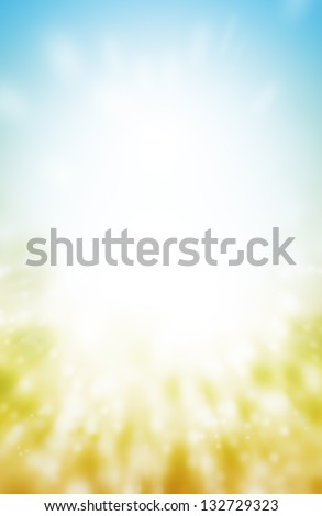 abstract color of field background.