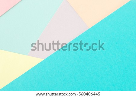 Abstract color paper and Creative colorful pastel paper background. #560406445