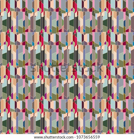Abstract color seamless pattern for new background. #1073656559