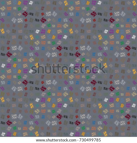 Abstract color seamless pattern for new background. #730499785
