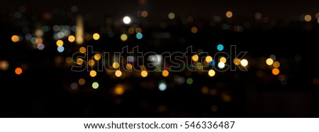Abstract colored lights bokeh background #546336487