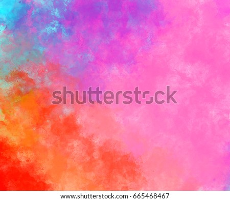 Abstract Colorful background, Colorful painting, Colorful brushing, Colorful background