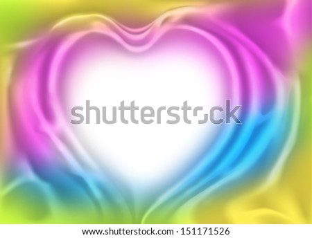 Abstract colorful cloth Background.